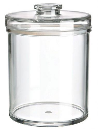 78 OZ Round Jar, Sealed Lid, MS, Foodsafe